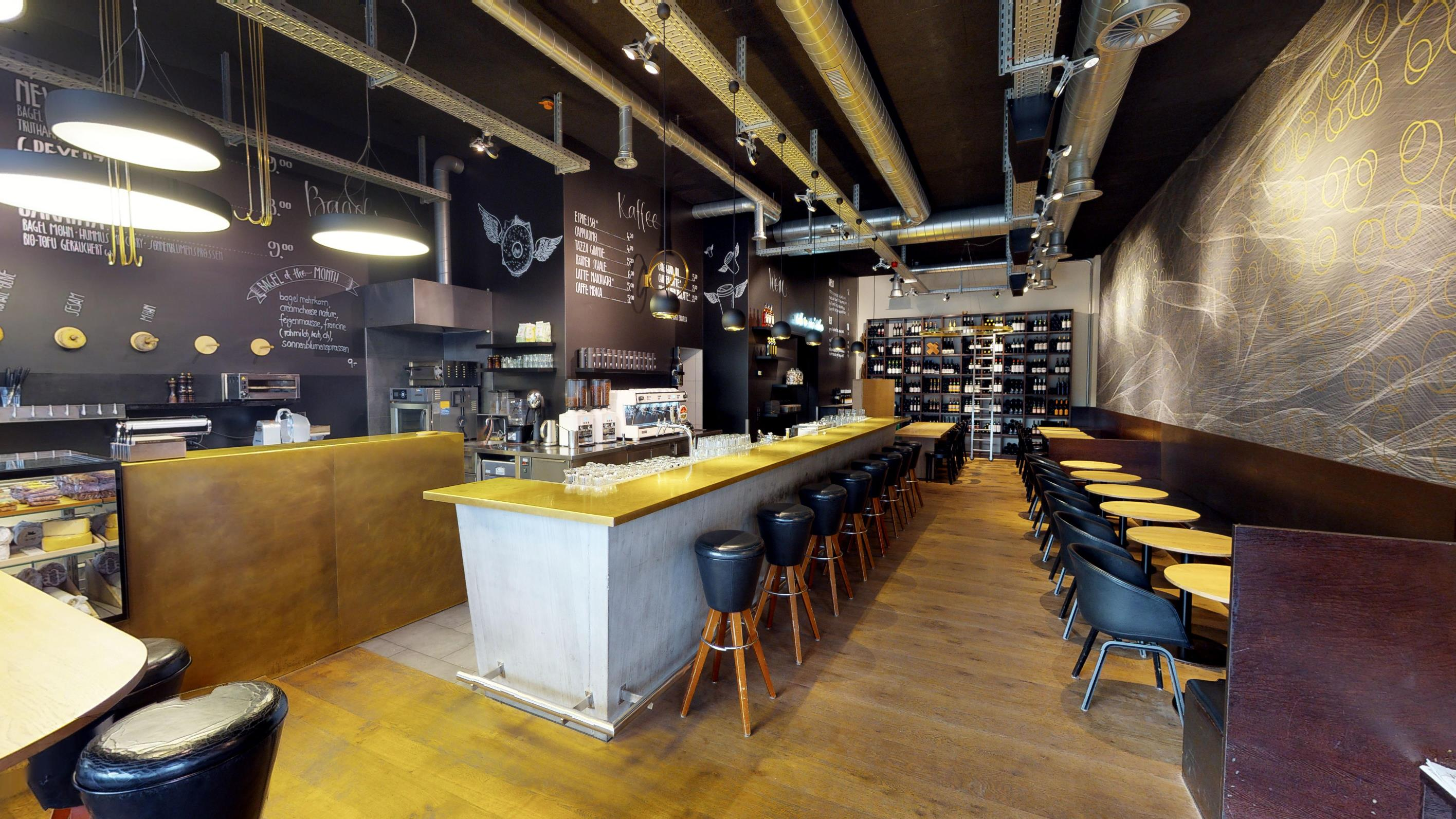 Visita Virtuale Coffee & Bagels Shop